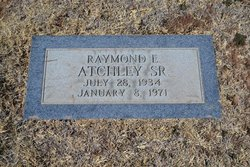 Raymond Eugene Atchley, Sr