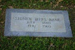 Sidney <i>Tipps</i> Bane