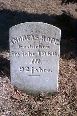 Andreas Andrew Ropp