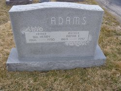 Orpha E Adams