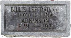 Billie Lee Adkinson