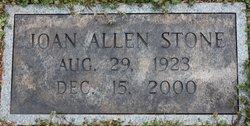 Joan <i>Allen</i> Stone