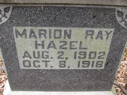 Marion Ray Hazel