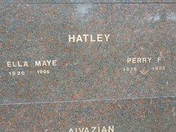 Ella Maye <i>Sampson</i> Hatley