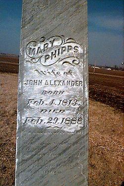 Mary <i>Phipps</i> Alexander