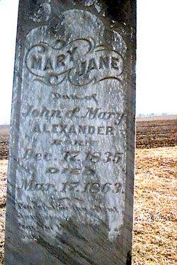 Mary Jane Alexander