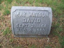 May <i>Watson</i> David