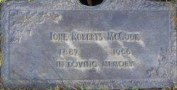 Ione <i>Roberts</i> McCook