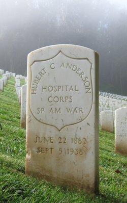 Pvt Hubert C Anderson