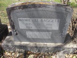Mamie Lee <i>Moses</i> Baggett