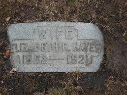 Elizabeth R Hayes