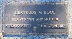 Gertrude M. Gert <i>Honeycutt</i> Booe