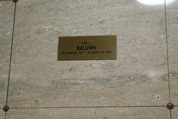 Iva L Baldwin