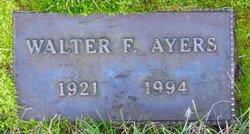 Walter F Ayers
