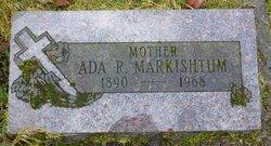 Ada Rose <i>Thompson</i> Markishtum