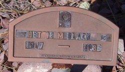Hettie A <i>Monzingo</i> Black