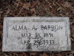 Alma Adelle Barron