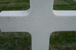 Sgt Donald A Syverson