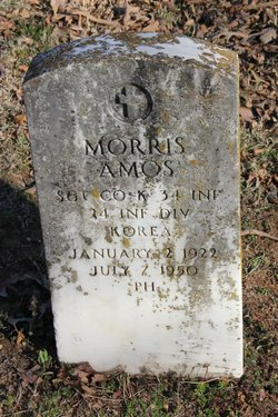 Sgt Morris Amos