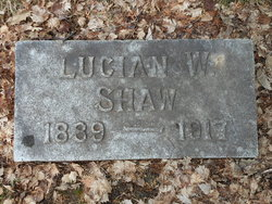 Lucien Walter Shaw