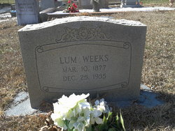 Edward Columbus Lum Weeks