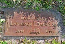 Lawrence Leonard Brown, Sr