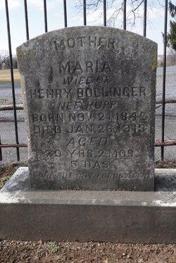 Maria <i>Rupp</i> Bollinger