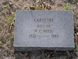 Caroline Lottie <i>Mincke</i> Wiese