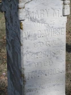 Mary M <i>Smith</i> Wiese