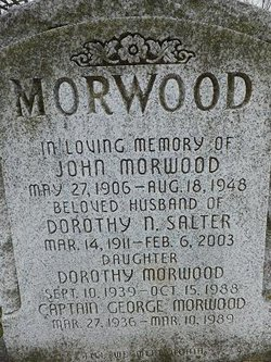 George John Morwood