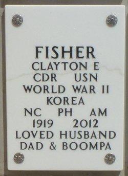 CDR Clayton Evan Fisher