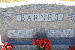 Lela Belle <i>Holland</i> Barnes