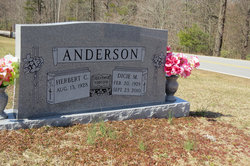 Dicie Etta <i>Moore</i> Anderson