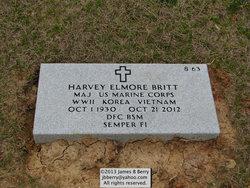 Maj Harvey Elmore Britt
