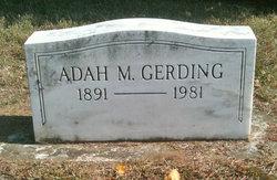 Adah M. Gerding