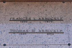 Frances Lee <i>Dunkin</i> Arbuckle
