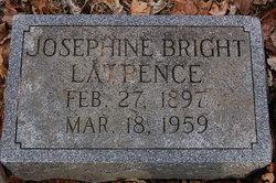 Josephine <i>Bright</i> Lawrence