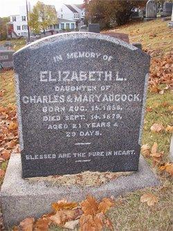 Elizabeth L Adcock