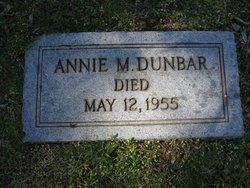 Annie <i>Sneed</i> Moore Dunbar