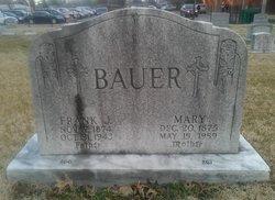 Mary <i>Bast</i> Bauer