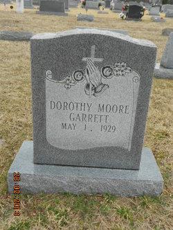 Dorothy <i>Moore</i> Garrett