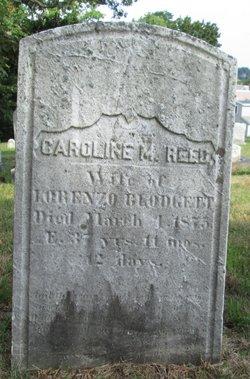 Caroline M <i>Reed</i> Blodgett