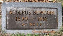 Adolphus Adolph Bowdoin