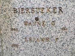 Wayne George Biersteker