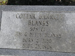 Cottar Barrett Blanks