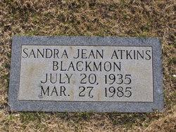 Sandra Jean <i>Atkins</i> Blackmon