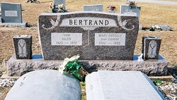Mary Freddie <i>Clement</i> Bertrand