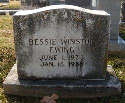 Bessie <i>Winston</i> Ewing