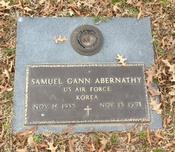 Samuel Gann Abernathy