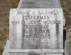 Annie <i>Barnes</i> Fesperman